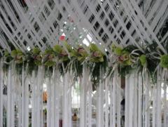 Свадедное оформление свадебная флористика