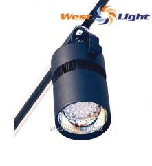 LED searchlight of DeLux FMI LED 20, 28 of W