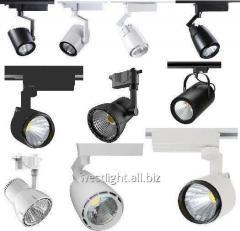 Track LED lamps 7W, 9W, 12W, 25W, 30W, 40W 9W,