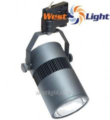 Track searchlight of DeLux FMI LED 20, 28 of W