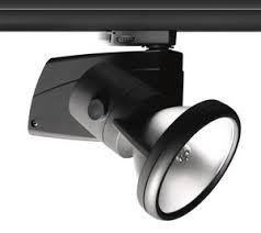 Track lamp, searchlight of Lug Robin 70W Black
