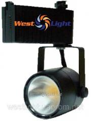 Track LED 28W lamp Black, Searchlight of ІNTEGRA