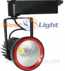 Track LED 20W lamp Red CT-5332