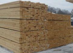 Bar of coniferous construction 6 meters