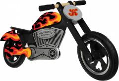 "Беговел 12"" Kiddi Moto Chopper Flames"