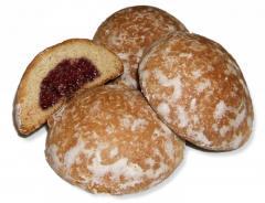 Gingerbread s fruit filling