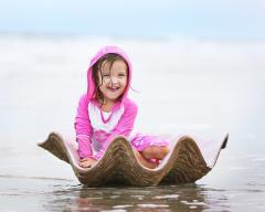 Солнцезащитный пляжный реглан с капюшоном Banz,