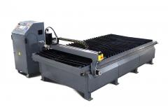 Machine of plasma cutting of steel, PL-3015