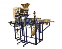 Automatic machine for packing of mix of loose