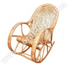 Wattled rocking-chair