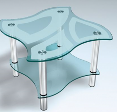 Изделия из стекла.Столы