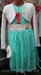 Платье  ( гипюр тонкий )