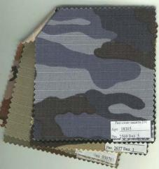 Fabrics - a camouflage.