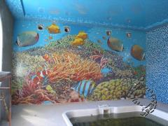 Мозаїчна плитка для басейну. Виробу з мозаїки