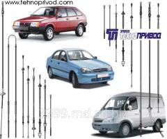 Тросы дистанционного управления для автомобилей