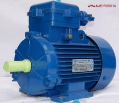 ELECTRIC MOTORS THREE-PHASE (WIDE CHOICE)