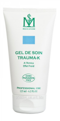 Gel for leaving of TPABMA-K with arnica against