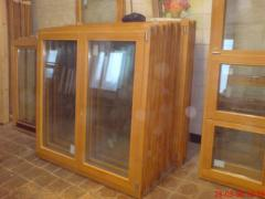 Wooden eurowindows from the producer