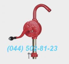 The manual manual pump for barrel the manual pump