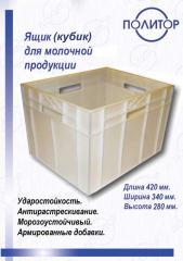 Ящики из пластика формованные и литые