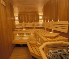 Wooden saunas to order