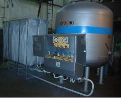 Cold gasifier cryogenic