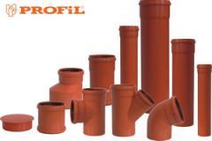 Системы внутренней и наружной канализации PROFIL