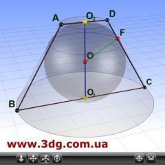 Gdz on geometry, a 3D model on the website of a