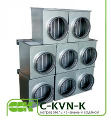 Heater C-KVN-K for round channels water