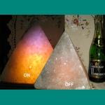 """Lamps salt """"Pyramid"""