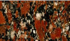 Slabs granite ROSSO SANTIAGO Kapustyansky field