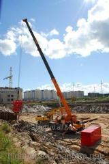 The truck crane of 25 tons 38 m - arrow