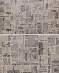 Retro paper Newspaper of 10 m x 75 cm.