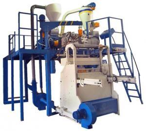 Press automatic spaghetti, vacuum for production,