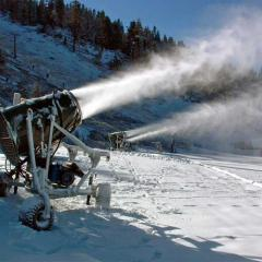 Hire of systems of snow making. Automation of