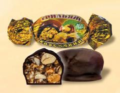 Шоколадные конфеты грильяж классический