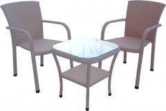 Комплект Версаль (1 стол + 2 кресла)
