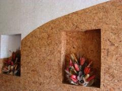 Пробка для стен (пробковые обои) Луцк