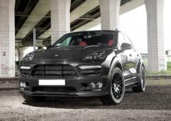 Tuning of Porsche Cayenne 958 2015-2016
