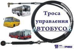 Тросовые приводы КПП, троса: ТНВД подачи топлива,