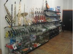 Духовые инструменты( саксофон альт, саксофонтенор,