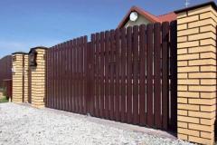 Забор, ограждения, штакет из металла Харьков
