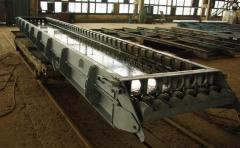 Металлоформы для изготовления  железобетонных ж/б