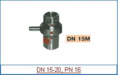 Cranes disk with muftovy accession of DN 15-20, PN