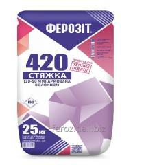 Floor coupler, mix for a coupler of Ferozit 420