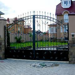 Кованые ворота и калитки(Киев, Киевская область)