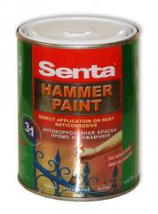 Антикоррозийная краска Senta Hammer. Производство