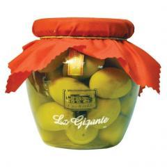 Olives huge green GGG of 590 g