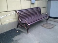 Benches pig-iron assembled