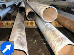 Pipes a dimeter from 57 mm to 1420 mm both
